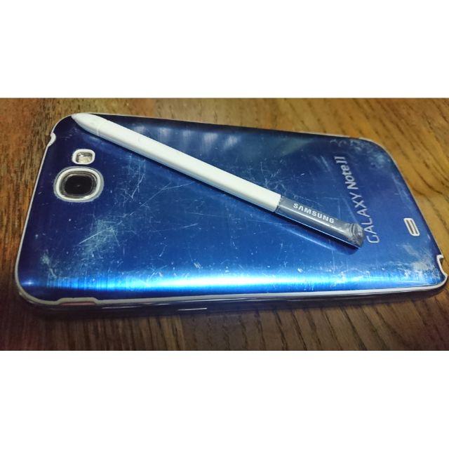 三星 GALAXY Note II (GT-N7100) 2G/16G 5.5吋藍色 二手機