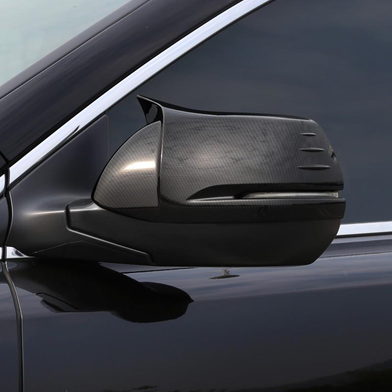 Honda~適用5代5.5代 CRV后視鏡罩21款crv 牛角倒車鏡蓋改裝飾配件用品