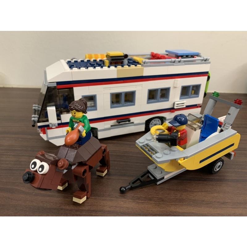 lego 樂高 31052 creator 3合1露營車 二手已組