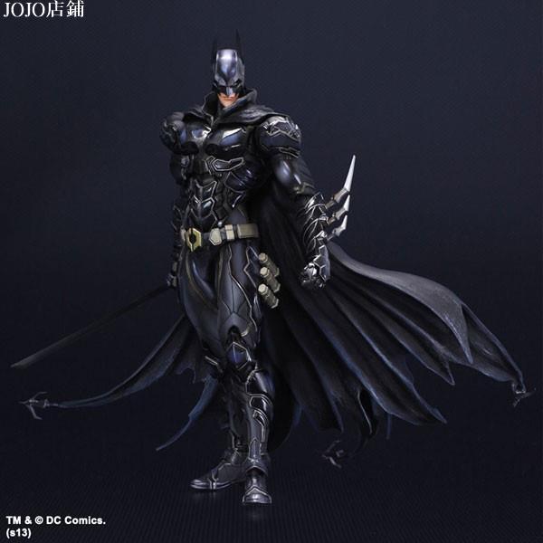 JOJO店鋪【可動】 Play arts 蝙蝠俠 BATMAN PA改 超級英雄 DC英雄  藍黑限定版