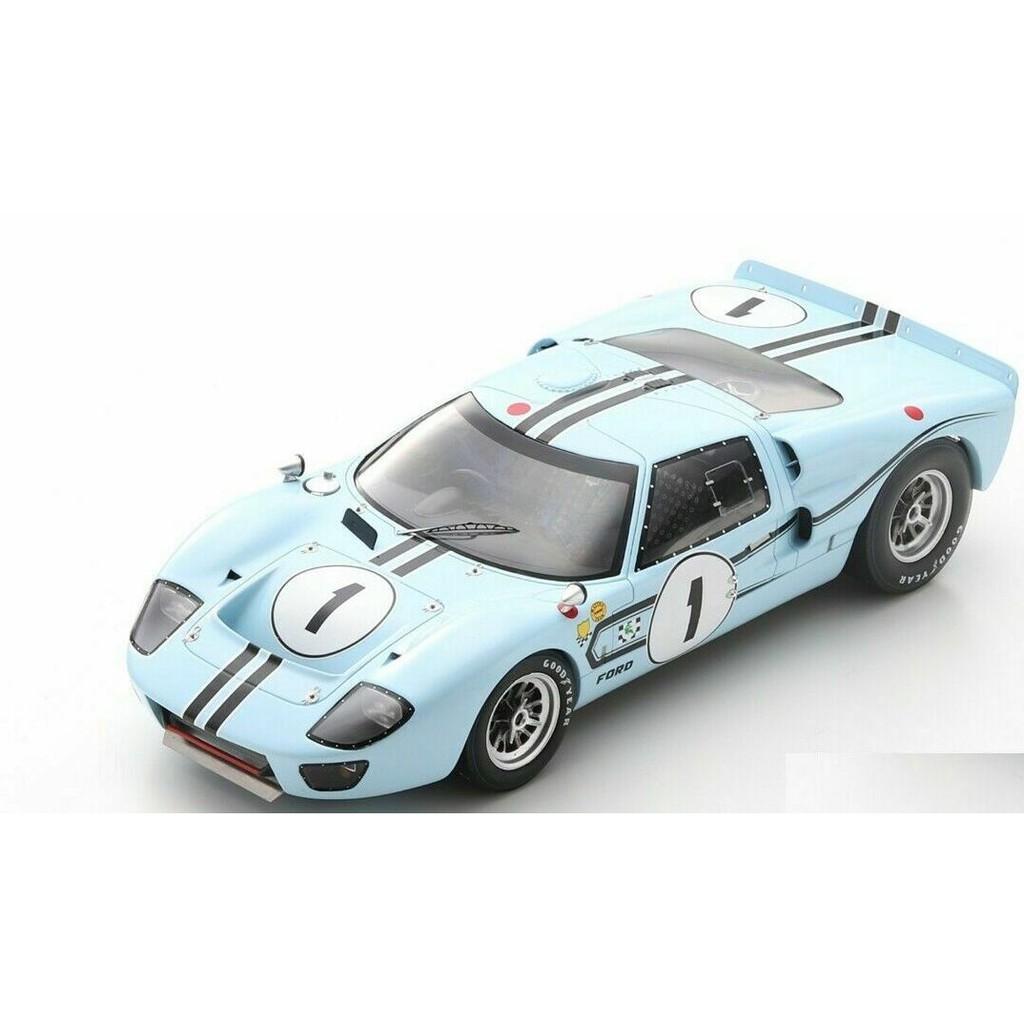 【名車館】Spark 18S470 Ford GT40 MK2B No.1 Winner 12H 1967 1/18