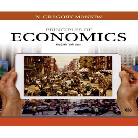 🌈台灣出貨🌈紙質現貨曼昆 經濟學原理 principles of economics 8th Edition 小豬書