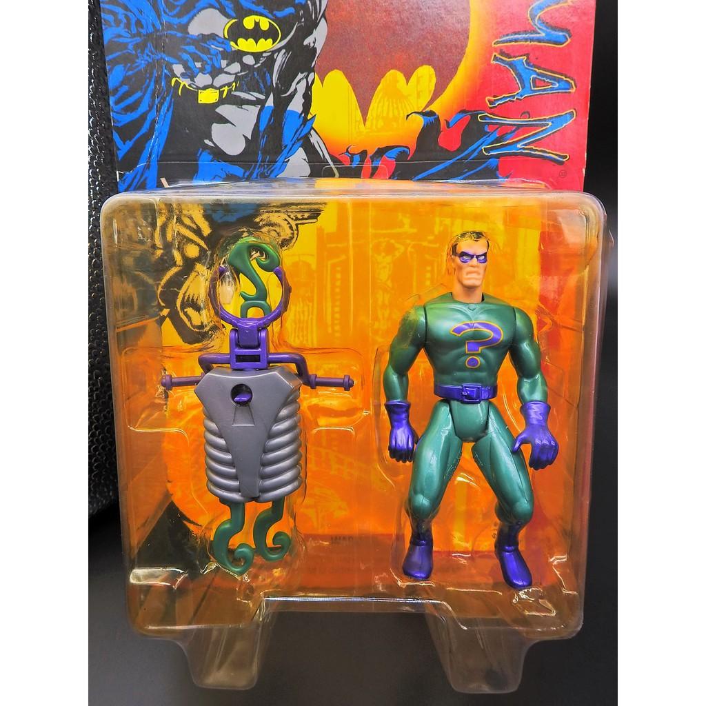 Kenner 1996 BATMAN 蝙蝠俠 THE RIDDLER 謎語人 J135-4