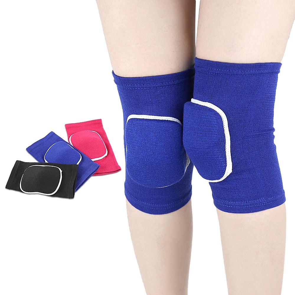 運動護膝 海綿回彈 排球足球防撞舞蹈跪地 護膝兒童輪滑