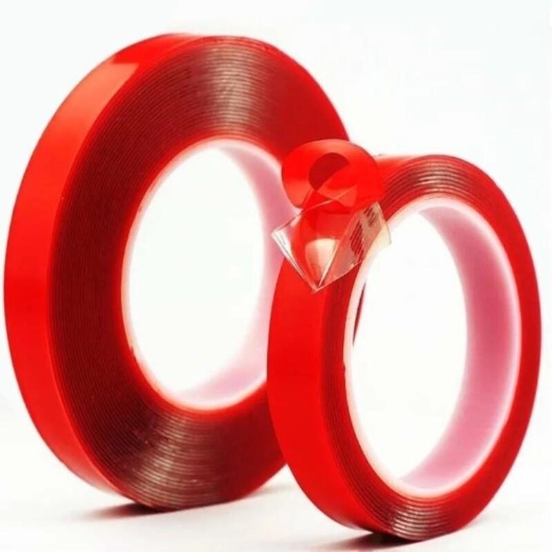 耐重無痕雙面萬能貼 強力雙面膠 透明無痕 超強黏力 壓克力膠帶 膠條 膠帶 雙面無痕強力膠條 隨貼隨黏 透明