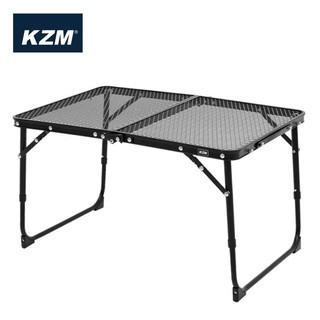 【KAZMI 韓國】迷你鋼網折疊桌-高質感鈦色 戶外小桌 (K8T3U011) 臺中市