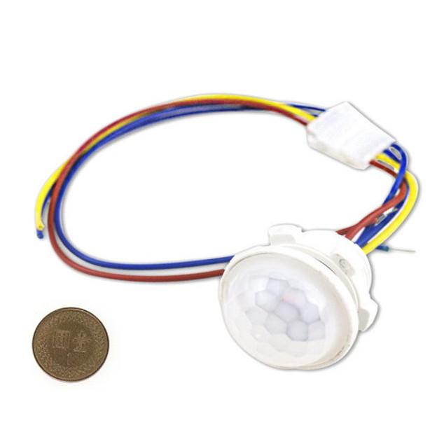 《 阿如柑仔店 》紅外線人體感應器 AC110V 40W 紅外線 感測器 人體感應燈 感應開關 CH-LUX40