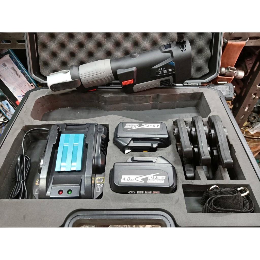 【泵浦五金】MK POWER  FKS 壓接機 雙4.0AH電池 與牧田18v電池共用MK POWER FKS BOST