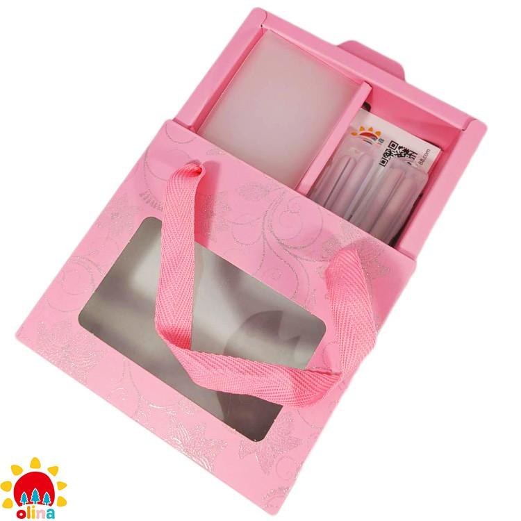 MOM'S olina SOFF 口罩減壓護套-乾燥玫瑰+收納夾-寵愛媽咪禮盒