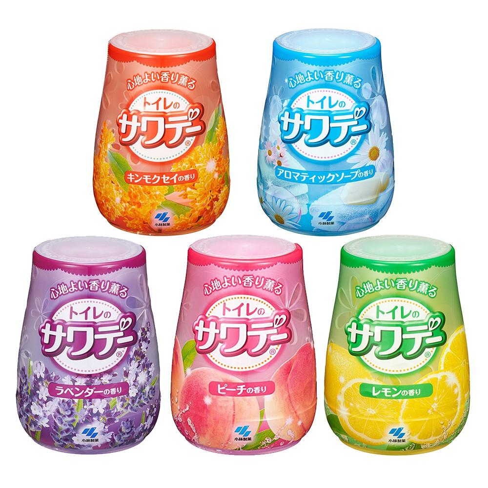 日本 小林製藥 Sawaday 浴廁用果凍消臭芳香劑140g 五款任選 浴室 浴廁 芳香 消臭