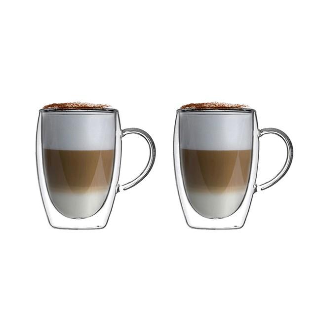 耐熱雙層馬克杯 - 共2款《泡泡生活》玻璃馬克杯 玻璃杯 雙層 耐熱 咖啡杯