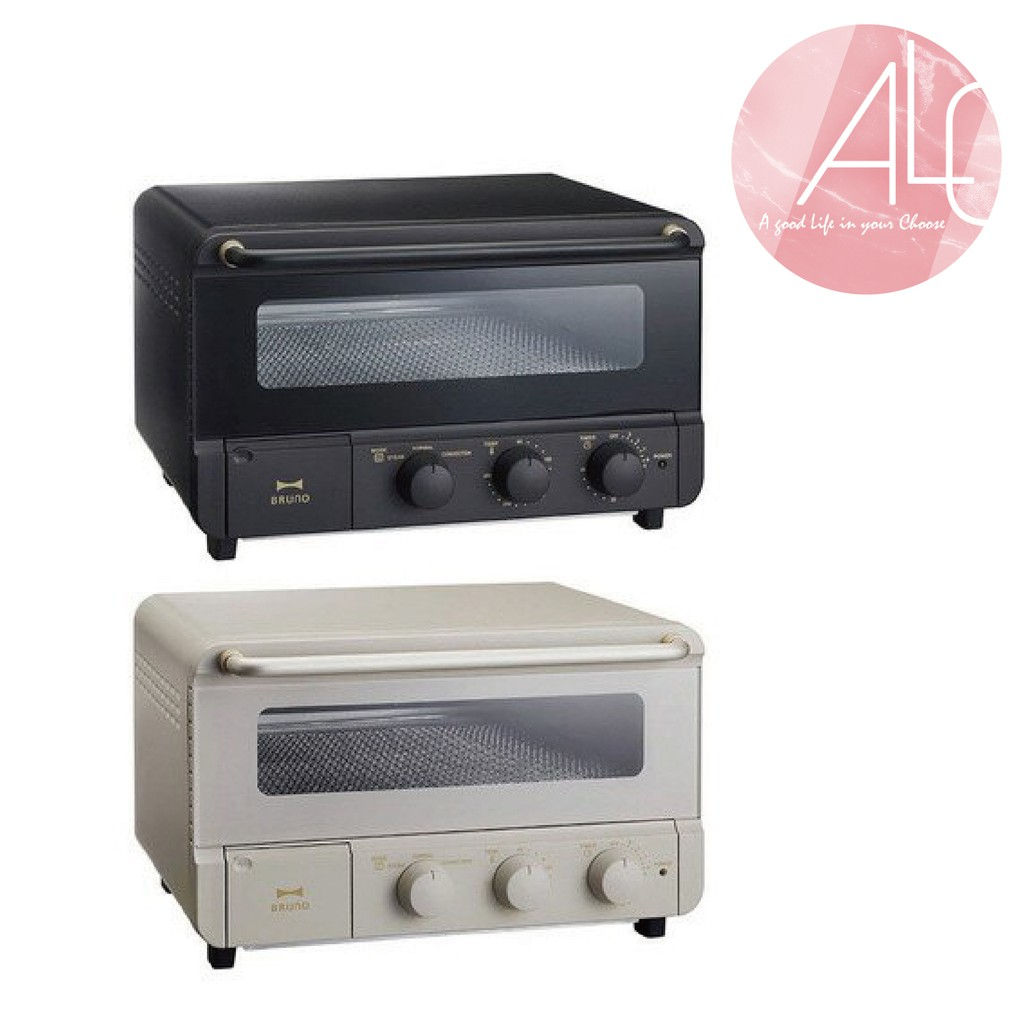 BRUNO 復古高質感造型烤箱 BOE67 黑/白