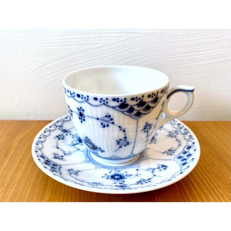 丹麥 🇩🇰 Royal Copenhagen 皇家哥本哈根 半花邊唐草 英國製 Minton 明頓 杯碟 杯盤 咖啡 杯