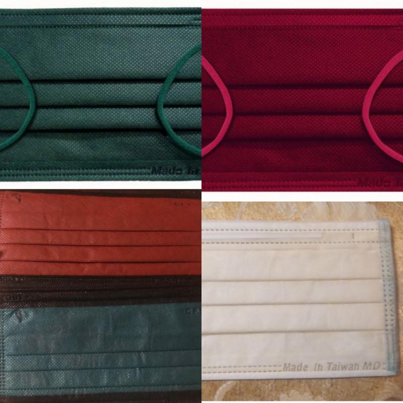 *雙鋼印*聖誕紅綠色口罩分售(福德好罩+久富餘黑邊+台灣優紙)