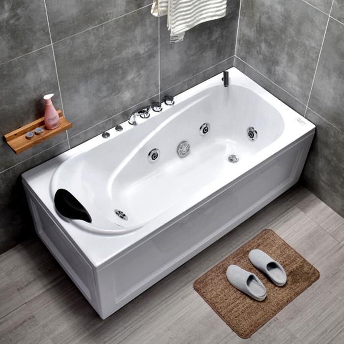 【新房必買清單】浴缸亞克力家用成人浴缸小戶型浴缸獨立浴缸衝浪浴盆1.2-1.8米