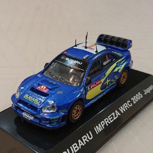 日本代購 CM's 1/64 Subaru impreza wrc 2005