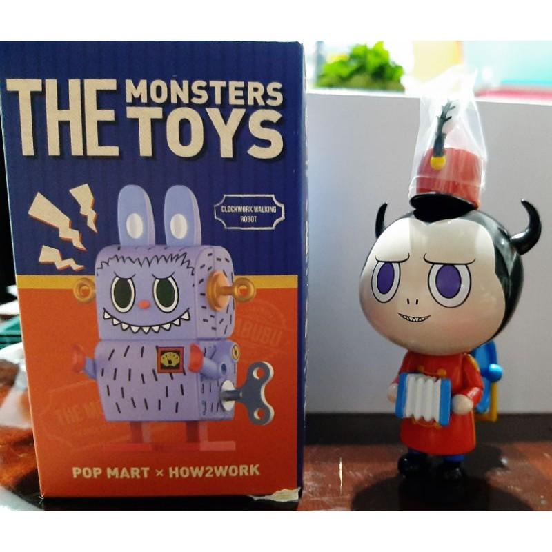 PopMart泡泡瑪特 LABUBU精靈玩具 THE MONSTER TOYS系列 單售-Tin Toy