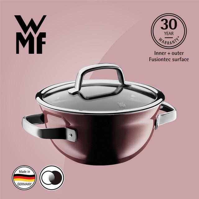 【德國WMF】WMF Fusiontec 調理鍋 20cm 2.3L (金屬玫瑰 赭紅色)