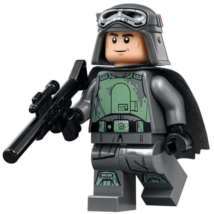 Lego 樂高 星際大戰 人偶 漢索羅 sw925 含武器 75211