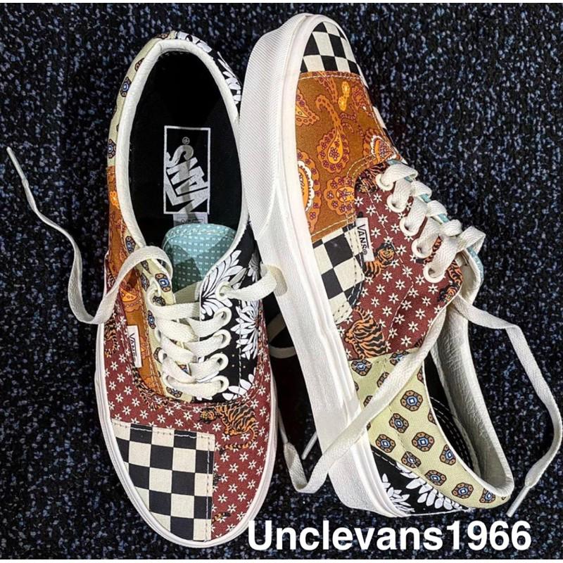 [unclev1966] 代購 Vans TIGER PATCHWORK ERA 拼接 變形蟲 復古 女款