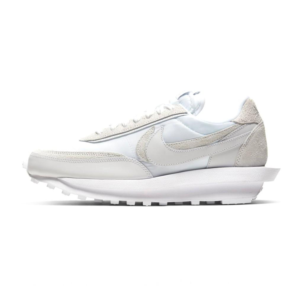 sacai x Nike LDV Waffle Nylon 白色