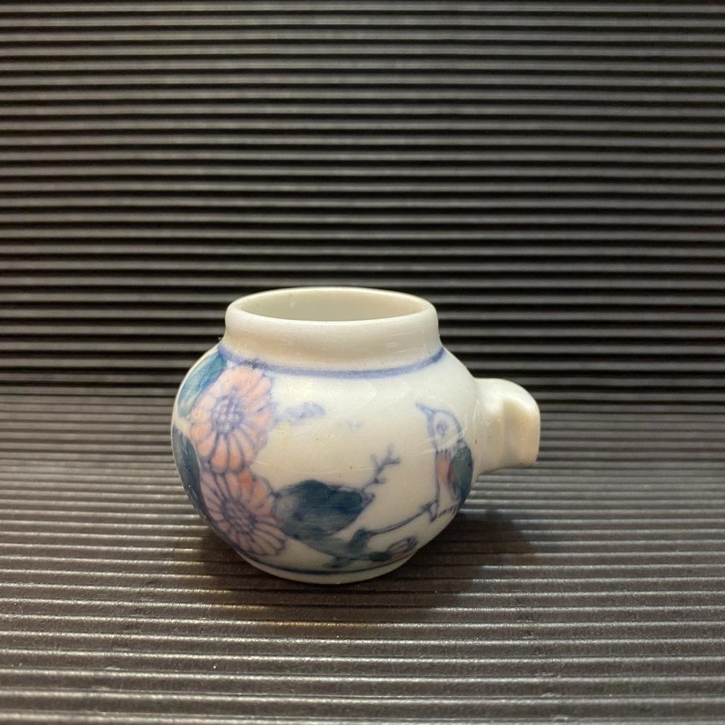 [ 小店 ] 小型鳥 飼料杯 適綠繡眼等 高約:4公分 材質:瓷 E9