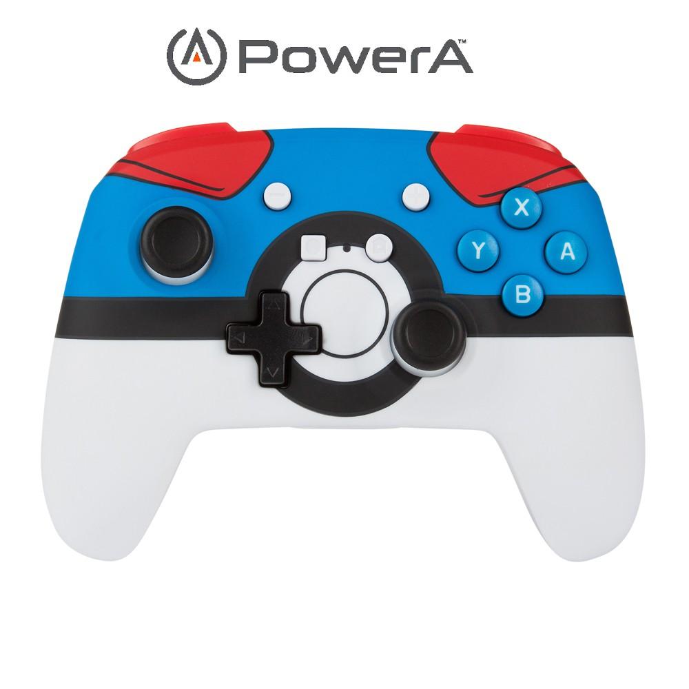 PowerA | Nintendo Switch 強化無線手把搖桿 寶可夢超級精靈球限定版(美國原廠現貨)【含運】