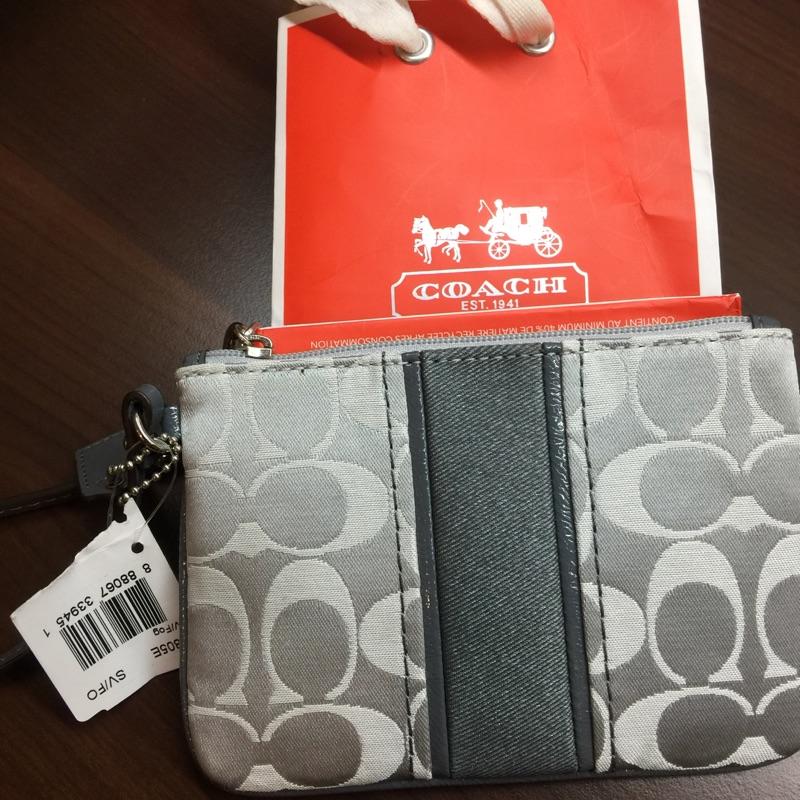 可議價COACH 51805E 手拿包✨零錢包✨手機包