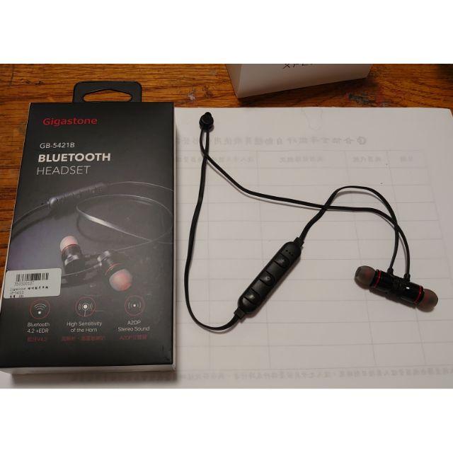 Gigastone 5421 藍芽耳機 磁吸