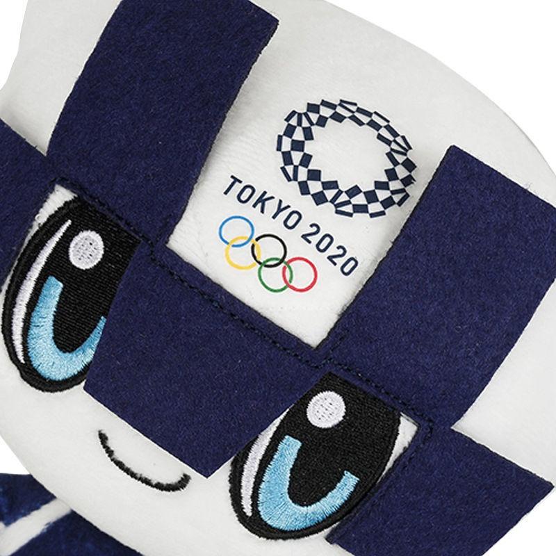 蜜蜜の小店2020東京奧運會吉祥物公仔毛絨玩具日本奧運賽事紀念品玩偶布娃娃