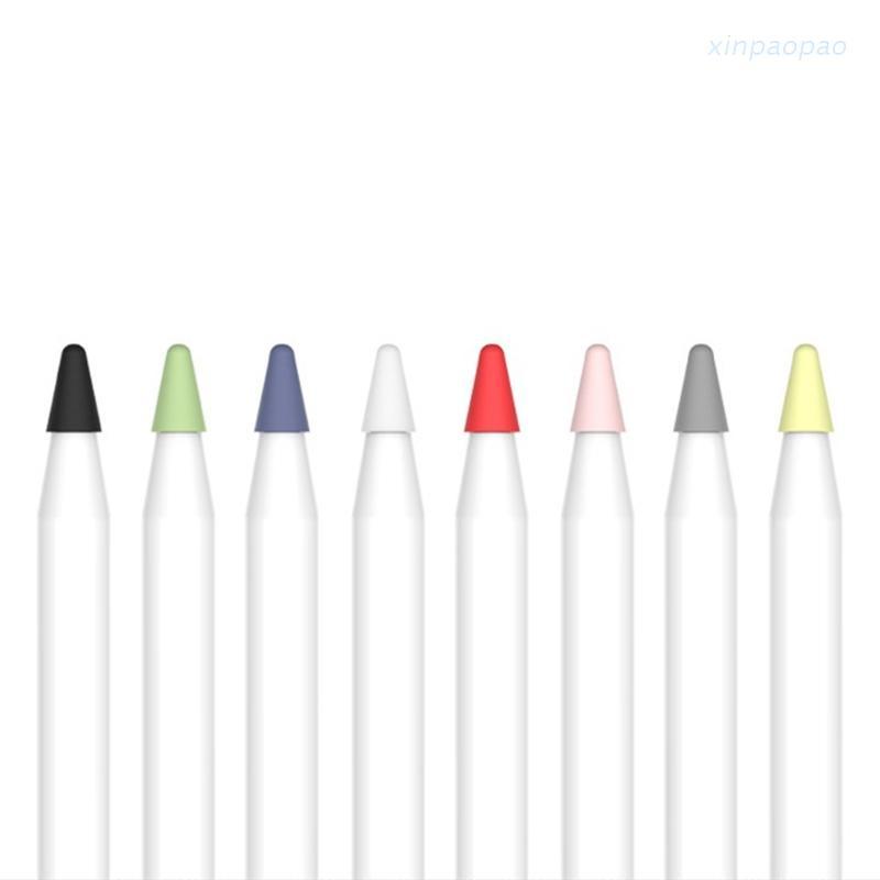 xinp  R* 8PCS靜音筆尖盒,用於iPad Pro第一代第二代手寫筆筆尖蓋