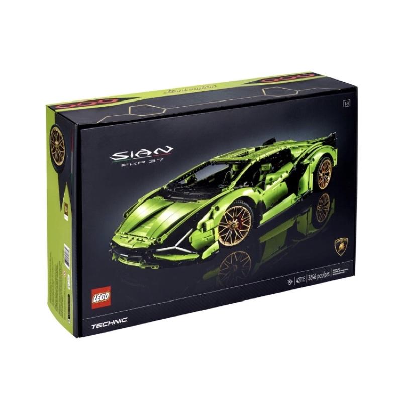 LEGO Technic 42115 Lamborghini Sián FKP 37科技系列