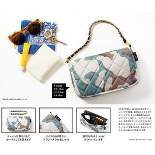 f27f5cd173ba ☆Juicy☆日本SWEET雜誌附錄BEAMS 迷彩多功能長夾錢包手拿包零錢包護照夾小物包2442