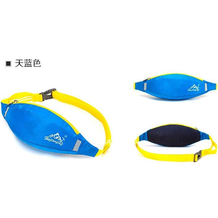 運動輕量腰帶包 騎行跑步腰包 多功能腰包 運動腰包 登山旅行腰包 可放6吋手機