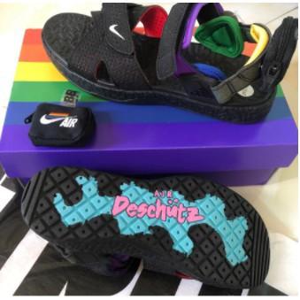 全新正品 Nike ACG Air Deschutz BETRUE 黑 彩虹 涼鞋 男女版