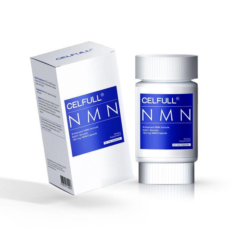 美國CELFULL塞立複NMN9000基因修復NAD+補充劑 煙酰胺單核苷酸CELFULL NMN60粒