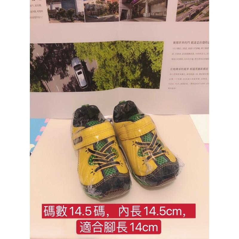 二手14.5碼moonstar月星幼兒機能鞋學步鞋兒童鞋