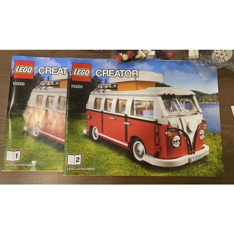 LEGO樂高 CREATOR創意系列 10220 福斯露營車