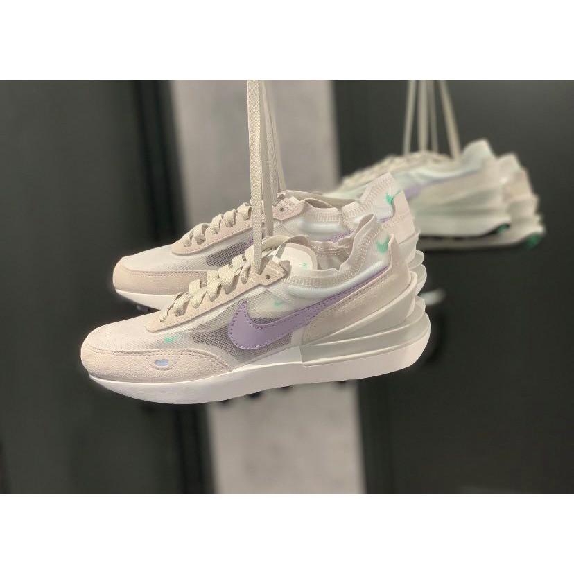 【PON】 Nike Waffle One 灰紫 灰白 紫色 米白 sacai平民版 小Sacai DC2533-101