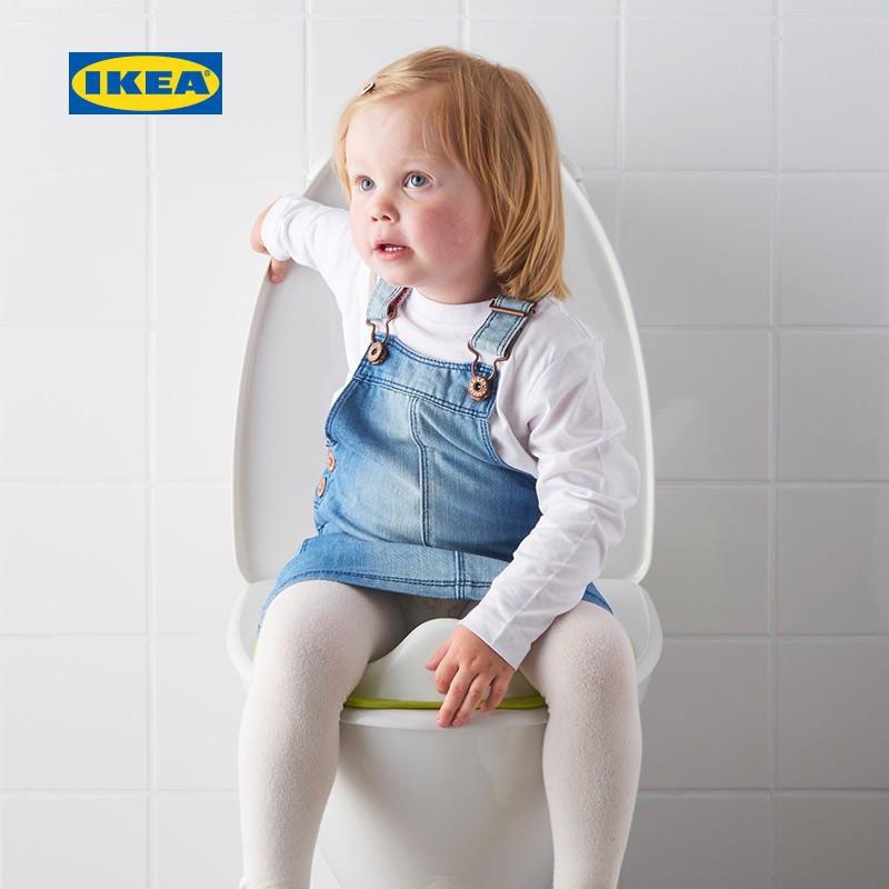 IKEA宜家TOSSIG托西馬桶座圈現代北歐底部防滑兒童坐便器