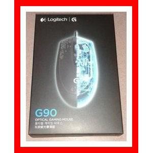 全新 羅技 Logitech G90 光學遊戲滑鼠 玩家級光學滑鼠 電競入門款/羅技Logitech G90 光學遊戲滑