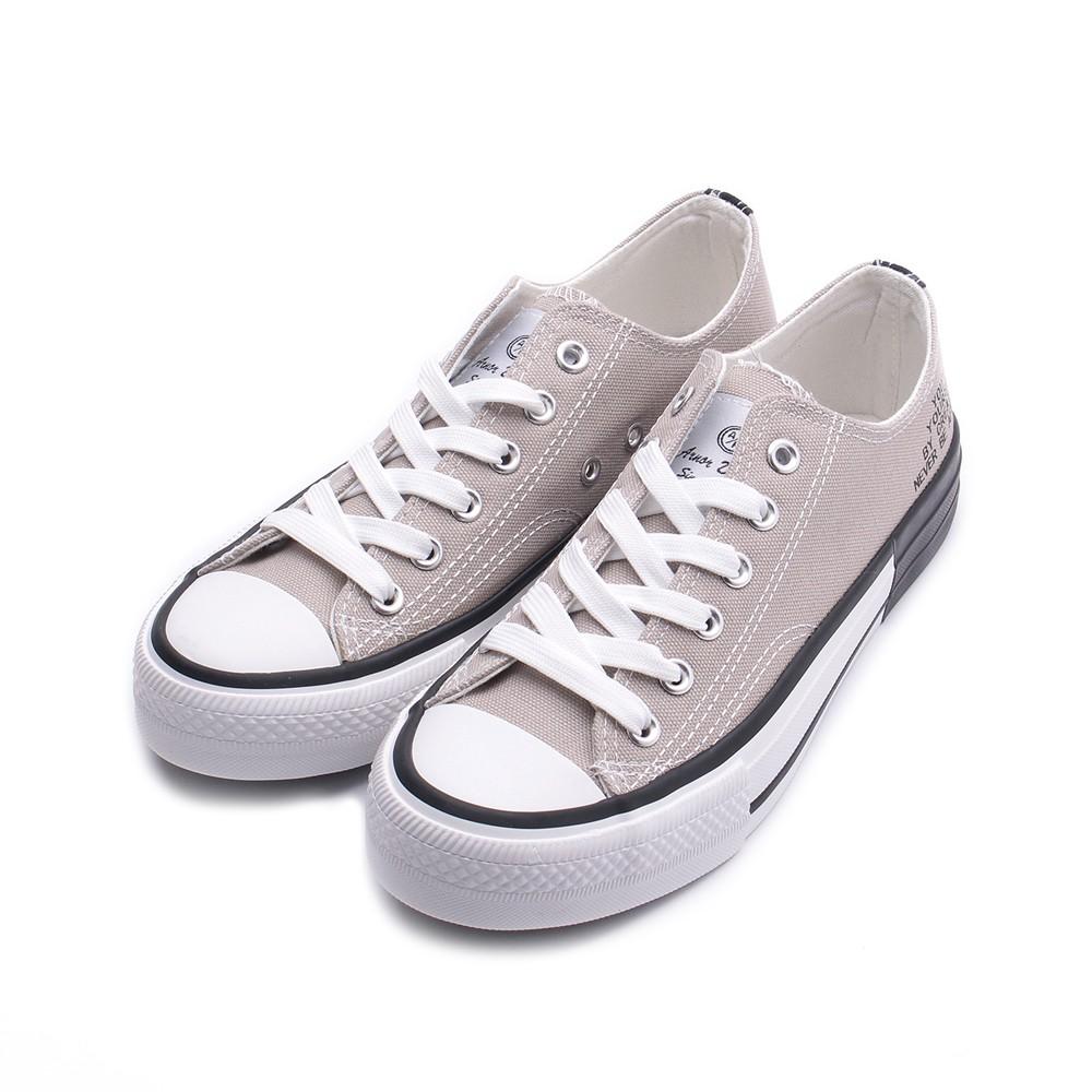 ARNOR 印字帆布鞋 灰棕 ARWC02398 女鞋