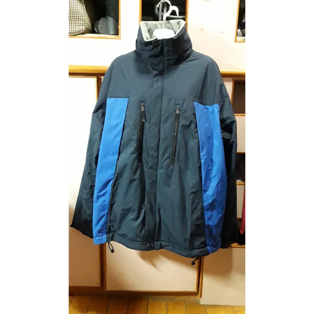 [全新] NAUTICA COMPETITION 深藍色 防風 加絨 外套