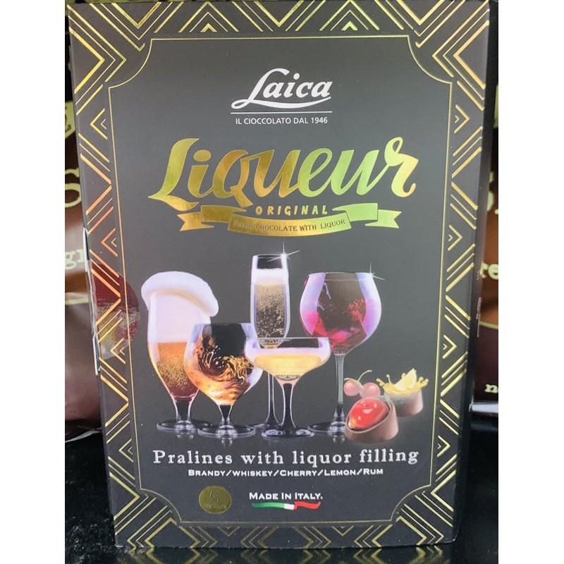 歐洲假期綜合夾心巧克力書本造型禮盒112g&義大利萊卡Laica綜合酒心巧克力書本造型禮盒104g