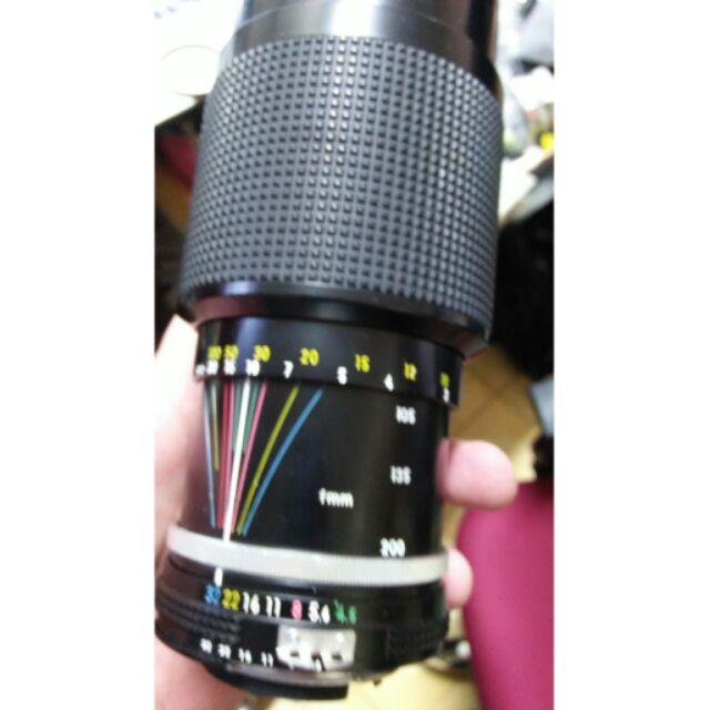 鏡頭 單眼相機 nikon 80 200mm f4.5 ai