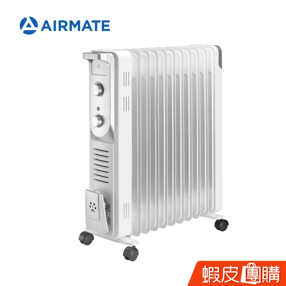 AIRMATE艾美特 11片葉片式電暖器HU15105 現貨(免運)(團)
