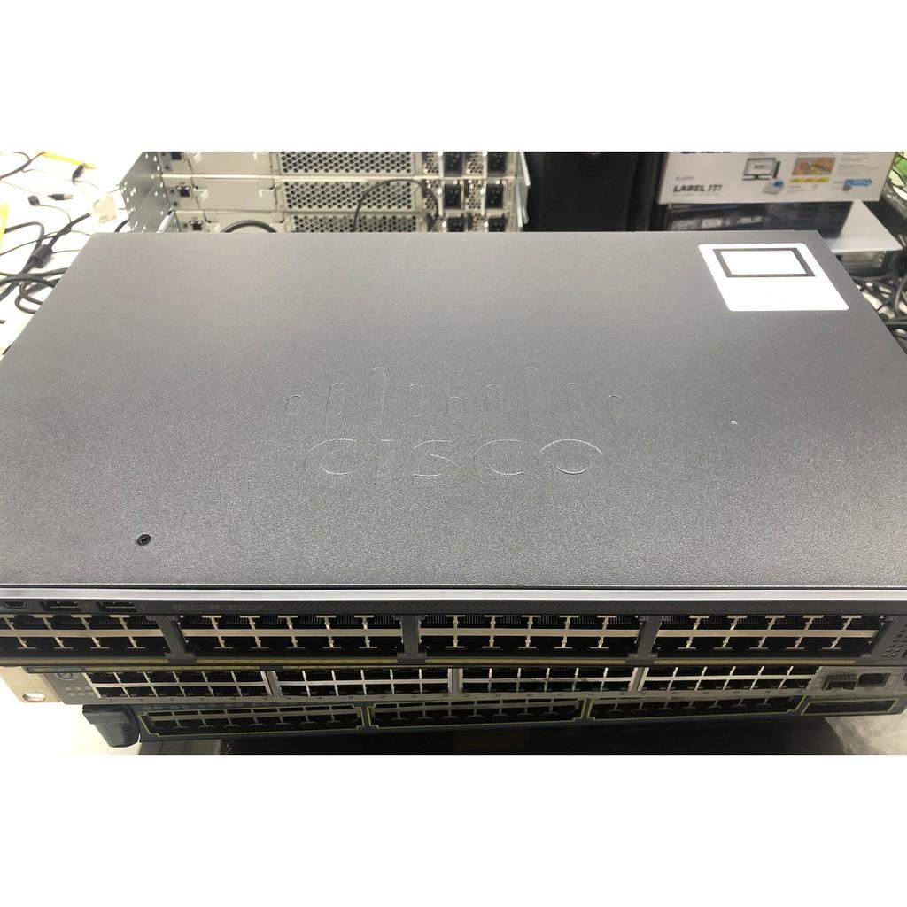 CISCO WS-C2960X-48TD-L 交換器