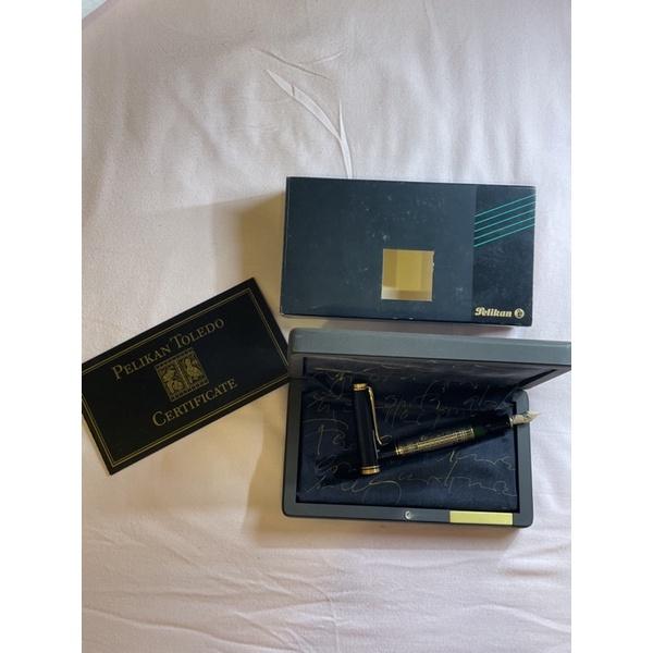 德國 Pelikan 百利金 M900 Toledo 大金鵰 18K金 限量款鋼筆