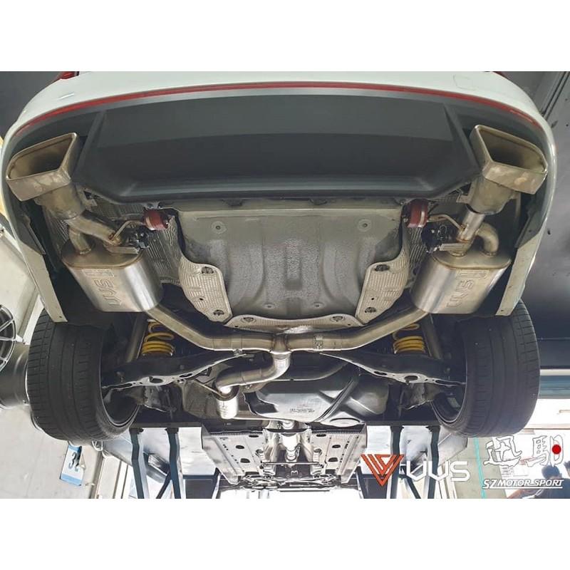 SZ迅馹國際-VVS Performance Exhaust 遙控閥門排氣管-SKODA OCTAVIA RS實裝車