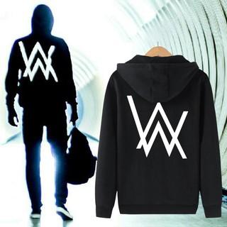 【樂電競】艾倫沃克DJ加絨衛衣男女Alan Walker同款Faded電音艾蘭沃克外套潮